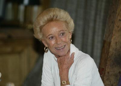 Rosine Goddet, à jamais marraine du Prix. Avec une joie profonde, elle a adopté cette organisation qui entend perpétuer la mémoire du grand homme de presse que fut son mari.