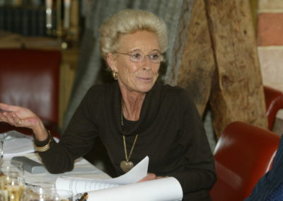 Rosine Goddet défend son choix. Elle ne fait pas mystère qu'elle votera pour Philippe Brunel !