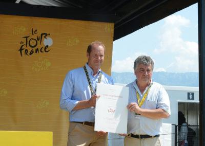 «Nous voulons redire chaque année, avec le Prix Jacques-Goddet, que la langue du Tour de France, c'est la francophonie», rappelle toujours Christian Prudhomme. Avec Jean-Luc Chabaud, elle a trouvé un nouveau chantre.