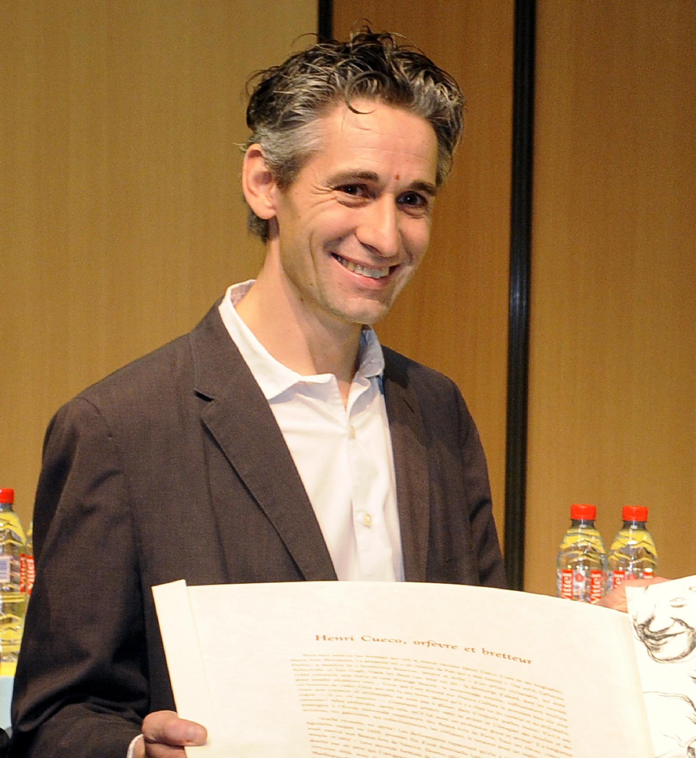 Jean-Julien Ezvan, lauréat du 4e Prix Jacques-Goddet
