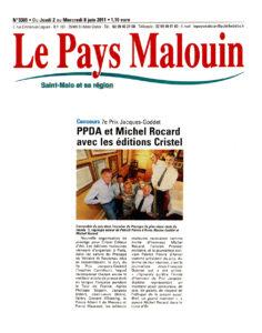 Presse - Le Pays malouin - Prix Jacques-Goddet - mercredi 8 juin 2011