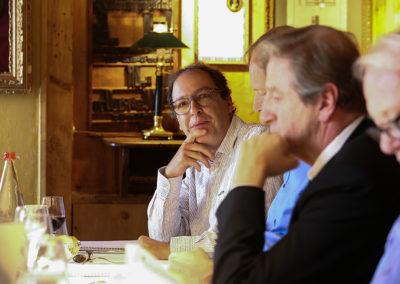 14<sup>e</sup> réunion du jury pour Henri Montulet, l'ancien rédacteur en chef de <em>La France Cycliste</em>. Comme chaque année, il verse dans le débat sa parfaite connaissance de la presse et du cyclisme.