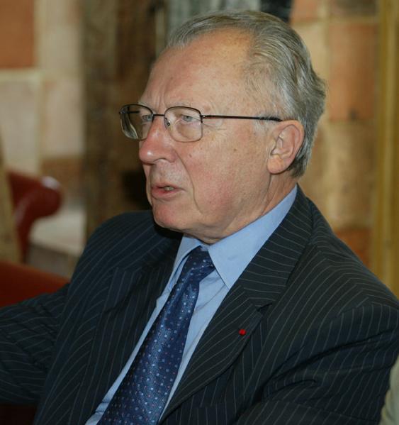 Jacques Delors, ancien président de la Commission Européenne