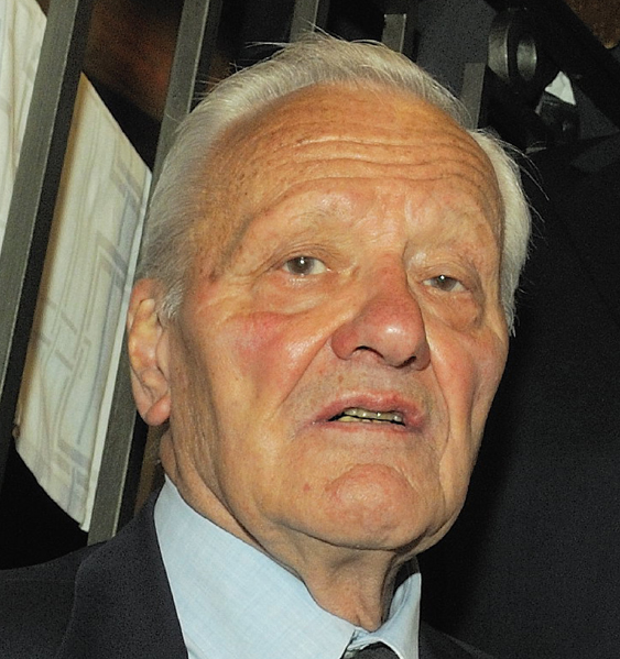 Pierre Mazeaud, président de la Fondation Charles de Gaulle