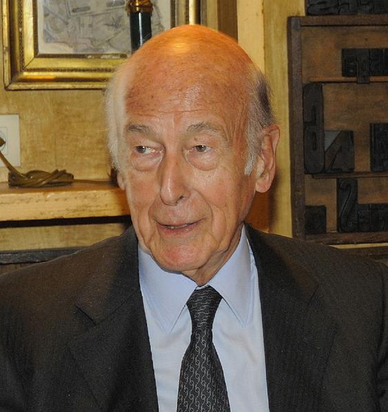 Valéry Giscard d'Estaing, ancien Président de la République