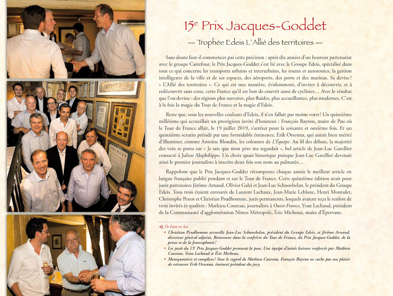 Grand Livre du cyclisme francais - Prix Jacques-Goddet
