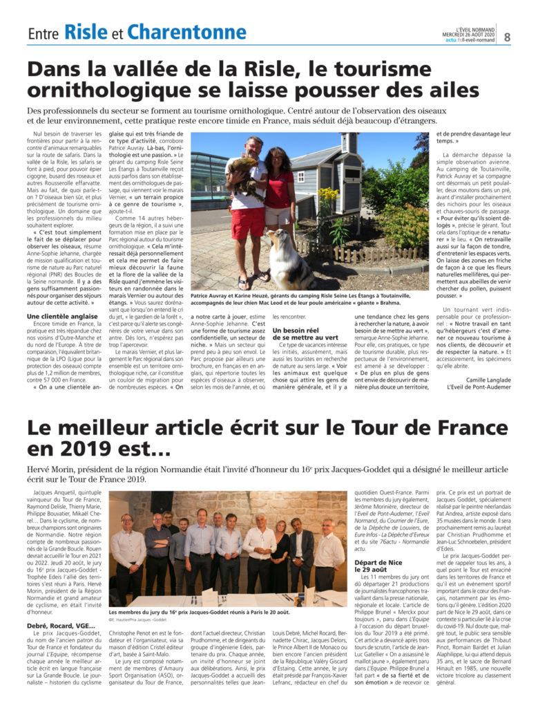 L'Éveil Normand - 26 août 2020