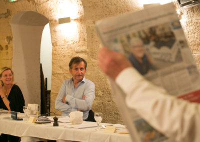 Sous le regard d'Isabelle Roche, François-Xavier Lefranc, président du Jury, retrouve un journal qu'il connaît bien ! Faut-il rappeler, à la suite de Christian Prudhomme, que <em>Ouest-France</em> est le quotidien francophone le plus lu dans le monde — et désormais, aussi, le premier site numérique d'informations en France ?