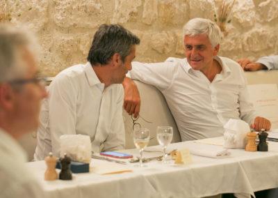 Confrontation d'idées ou rencontre sur de mêmes points de vue entre Olivier Galzi et Hervé Morin ? Les secrets d'un Jury sont quelquefois impénétrables…