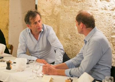 Premier quotidien de France et indispensable Tour de France… Forcément, François-Xavier Lefranc et Christian Prudhomme ont beaucoup à se dire.
