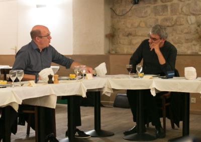 Philippe Sudres n'est pas en reste. Et, bien sûr, Jérôme Morinière peut vérifier que le directeur du service de presse d'Amaury Sport Organisation défend, lui aussi, ses convictions jusqu'au bout !
