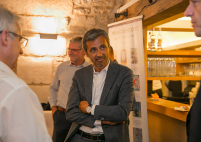 Aux côtés de Christophe Penot, Olivier Galzi a retrouvé Christian Prudhomme. Une vieille complicité qui nous rappelle que tous les deux se sont d'abord formés au journalisme télévisé.