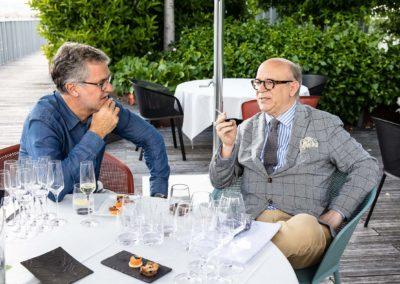 Bienvenue, cher Marc Lambron. Laurent Lachaux s'est fait un bonheur d'accueillir celui qui va présider, avec un formidable brio, les destinées du Jury du 17e prix Jacques-Goddet.