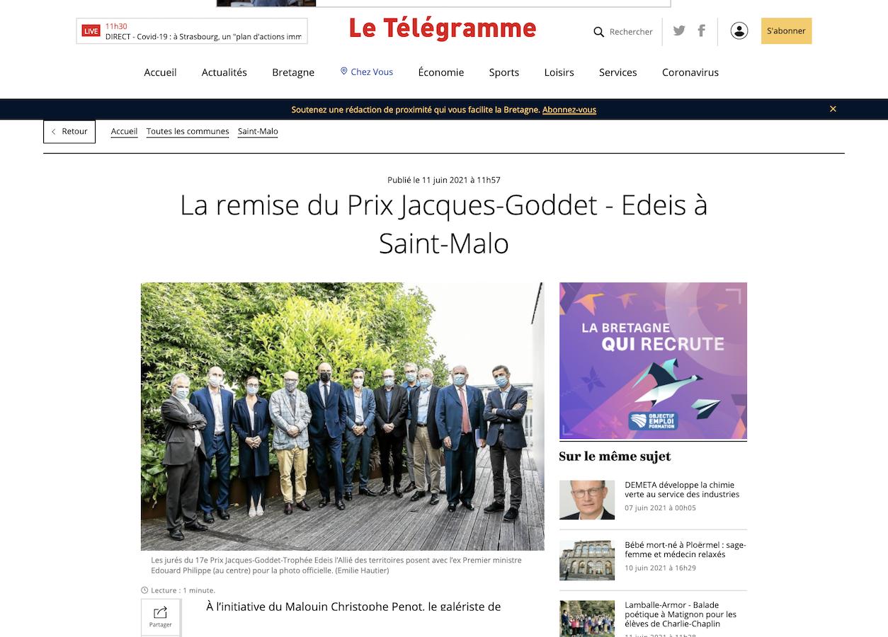 Le Télégramme 17e Prix Jacques-Goddet