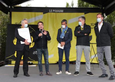 L'invincible passion de Gilles Comte. Il raconte comment il a retrouvé à Saint-Léonard-de-Noblat, où passaient les coureurs du Tour de France 2020, la trace d'un ancien bon coureur amateur qui s'appelait André Poulidor…